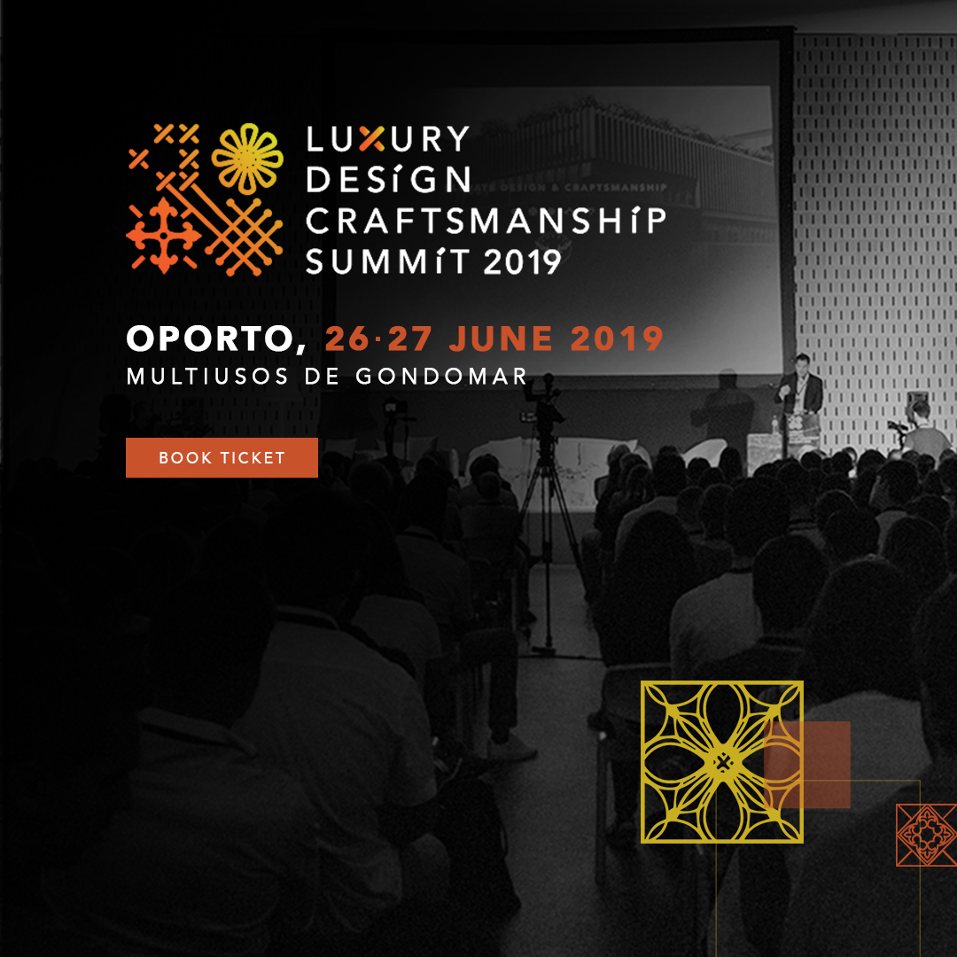 Luxury Design Craftsmanship Summit 2019  Homepage datas 1080x1080