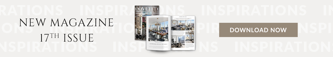 CovetEDMagazine17thissue 5 milan-based interior designers 5 Milan-Based Interior Designers To Inspire Your Next Design Project banner horizontal