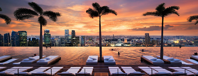 The Spectacular Beauty of Marina Bay Sand Hotel marina bay sands Celebrity Hotels: Outstanding Marina Bay Sands Singapore marina bay sands skypark covetedition The Spectacular Beauty of Marina Bay Sand Hotel