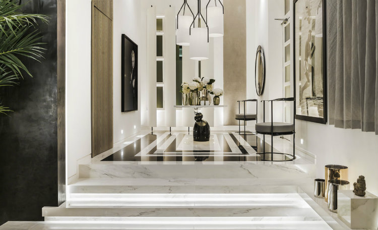 couture_entrance-1 residential projects by kelly hoppen The Best Residential projects by Kelly Hoppen in United Kingdom Couture Entrance 1