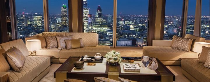 Meet the fabulous Suites of Shangri-La Hotel in London
