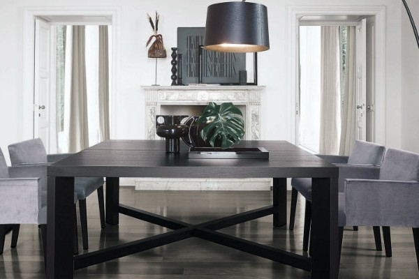covet-edition-Inspirational-interior-designers-Vincent-van-Duysen-dining-table-contemporary-wood-indoor