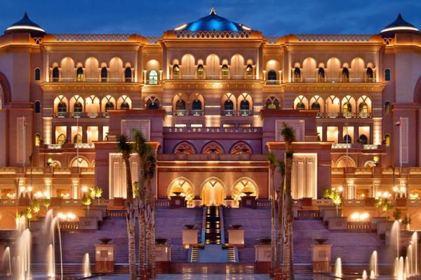 Luxury 5 Star Emirates Palace In Abu Dhabi