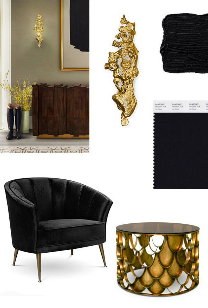 Covetedition-BLACK & GOLD FOR A STYLISH LIVING ROOM-mix