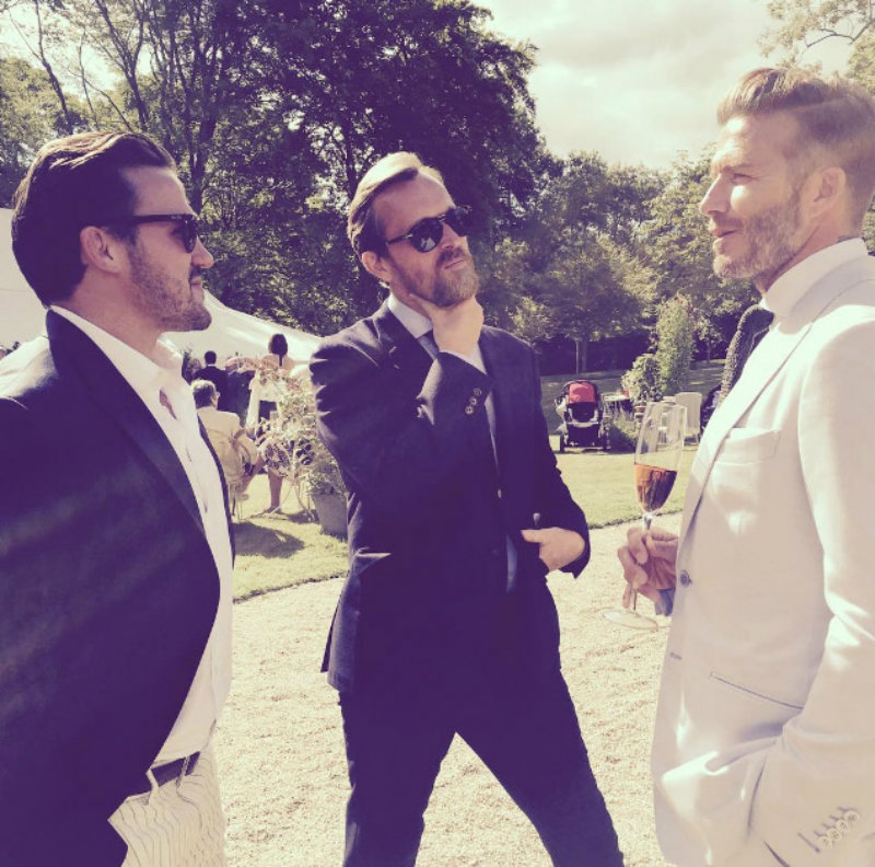 Covetedition- Guy Ritchie and Jacqui got married - David Beckham