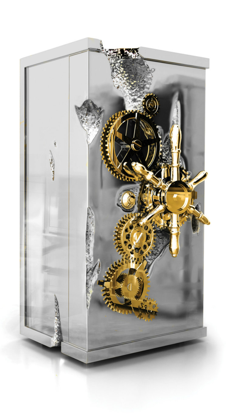 Covetedition-High Luxury Safes from Boca do Lobo-Millionaire silver