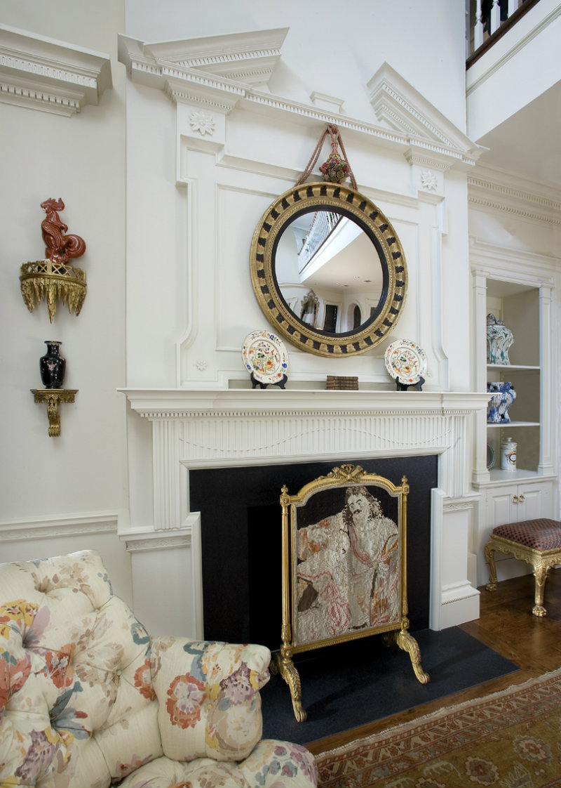 Coveted Top Interior Designers  Joseph Minton Chestertown Mantel