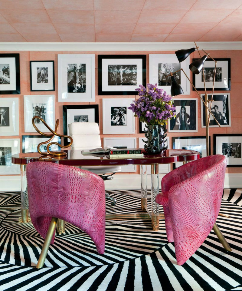 coveted-Top-Interior-Designers- Kelly-Wearstler-contemporary-office-library-kelly-wearstler-bel-air-california-201301-2_1000-watermarked