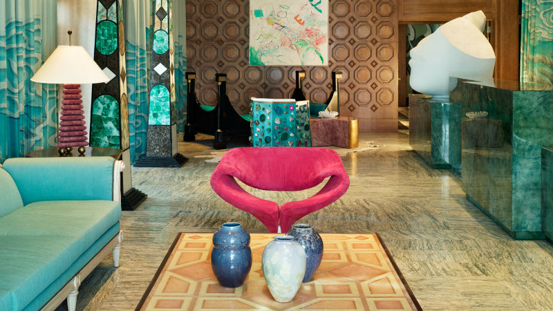 Top Interior Designers: Meet Kelly Wearstler's Vibrant Design World-9