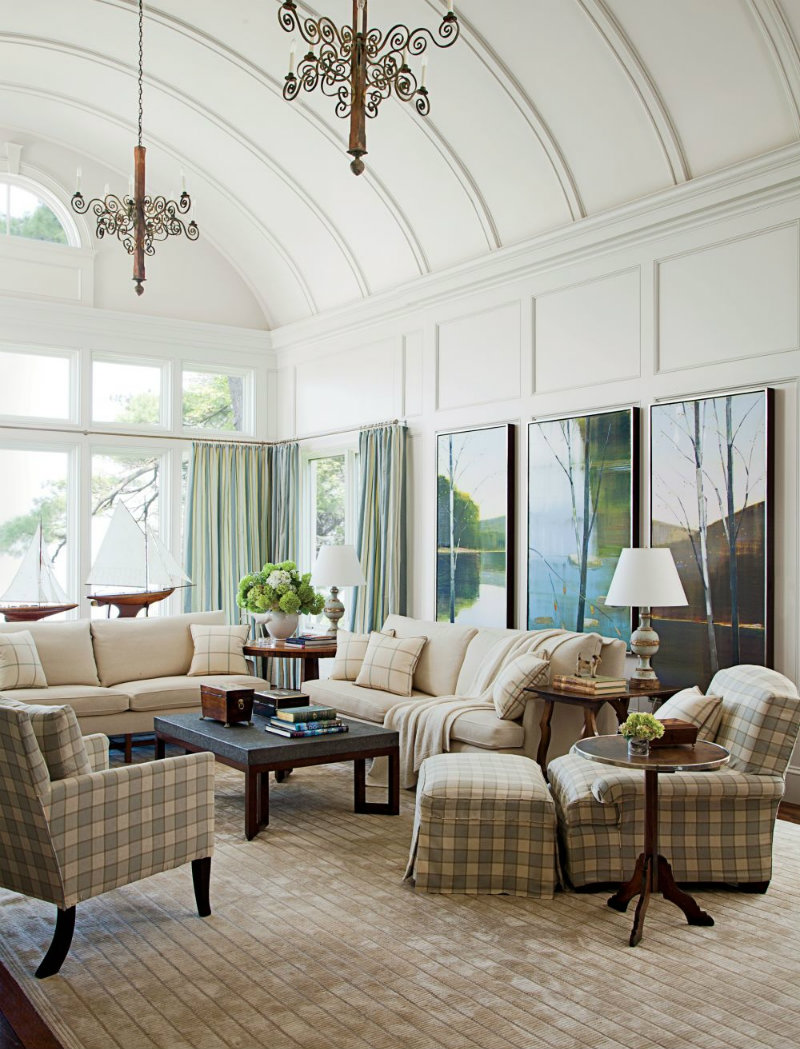 Coveted Top Interior Designers Lori Dennis Traditional Living