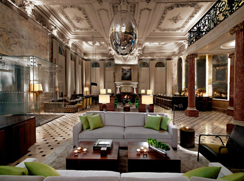 Coveted Top Interior Designers Yabu Pushelberg Ian Schrager The London Edition Hotel