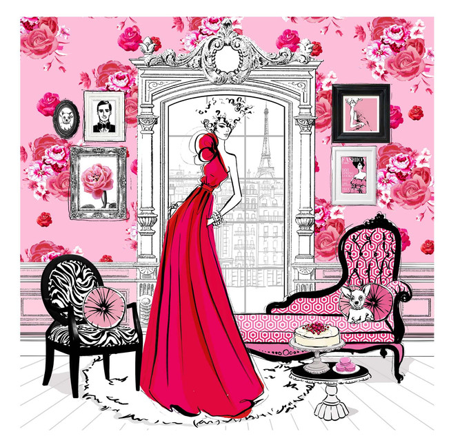 Fashion House: Illustrated Interiors from the Icons of Style illustrated interiors from the icons of style Fashion House: Illustrated Interiors from the Icons of Style ILLUSTRATED INTERIORS FROM THE ICONS OF STYLE 4