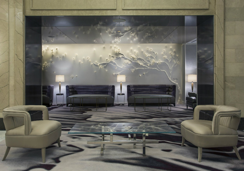 A fabulous lobby at the loews regency hotel for Interior design inspiration new york