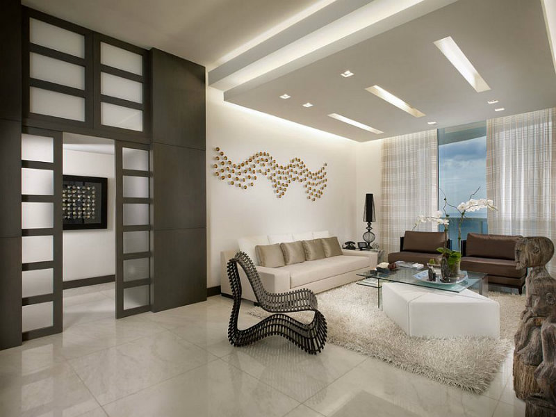 Coveted Top Interior Designers Kis Interior Design By Guimar Urbina False Ceiling Adds Unassuming Beauty To The Living Room Covet Edition