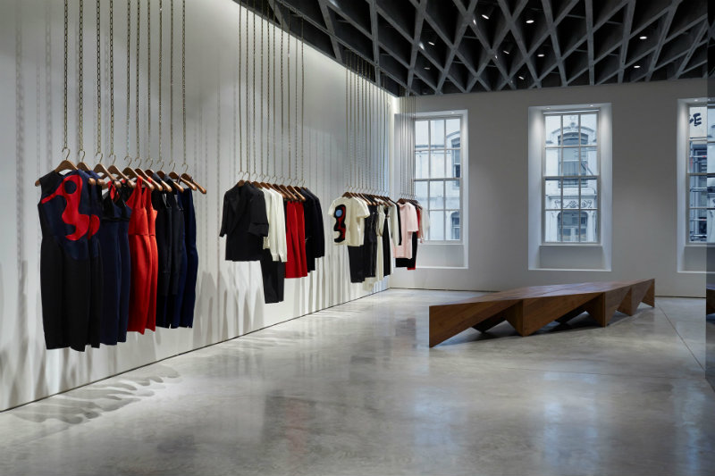 coveted Tricks retail Retail Trade: check out the tricks coveted Tricks of the Retail Trade Victoria Beckham 36 Dover Street 9 23Sept14 pr b 1