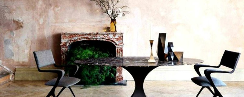 coveted-Visit-an-interior-design-itinerary-in-Paris-Dining-Room-Interior-Design-with-Vienna-Chair-by-Tom-Faulkner-UK