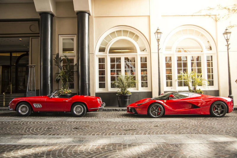 coveted-Ferrari-Italian-luxury-car-manufacturer-two-red-cars