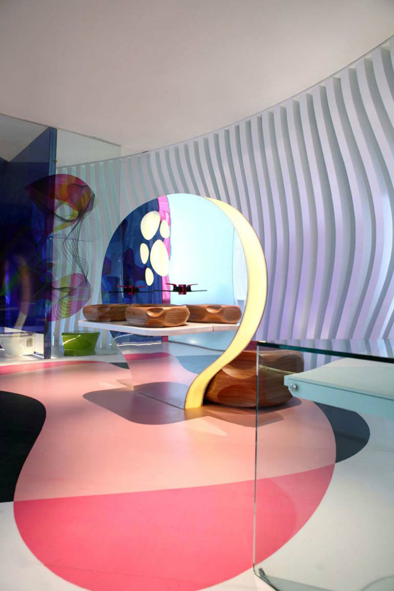 Discover 25 of the most prestigious design projects by karim rashid design projects discover the most komb house
