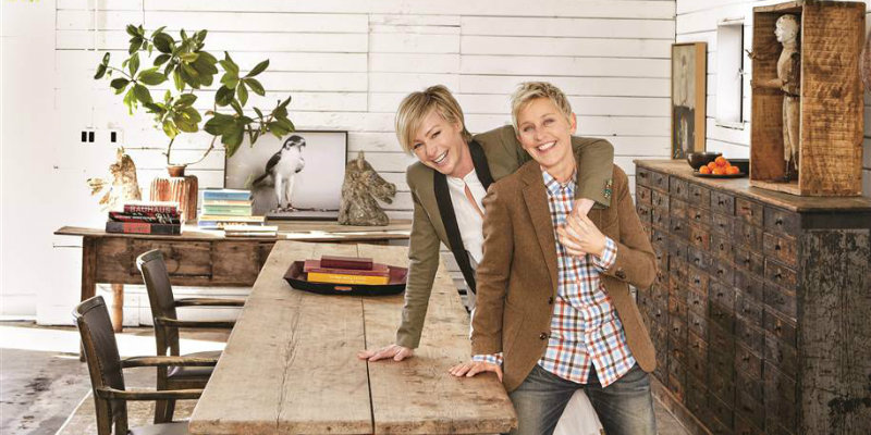 Ellen DeGeneres presents Home Book