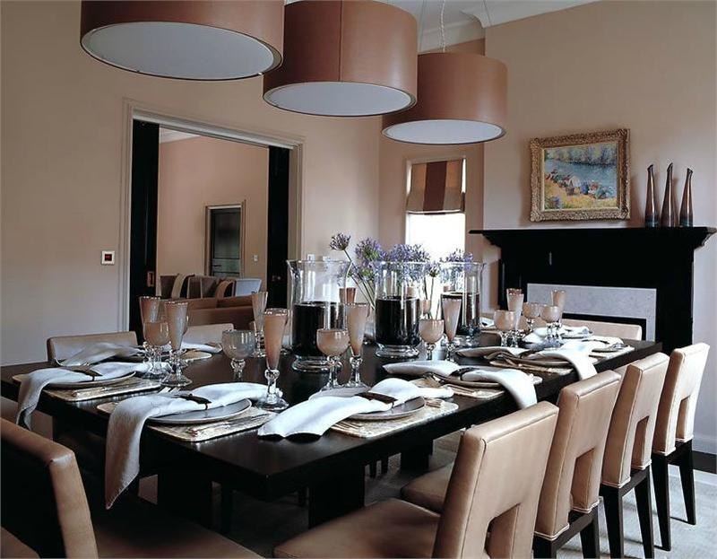 Classic Contemporary Dining Room  Kelly Hoppen's Interior Design coveted Kelly Hoppen advances House Design Classic Contemporary Dining Room