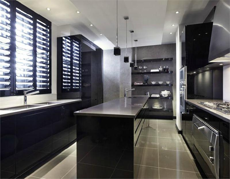 Contemporary Kitchen Enter the Contemporary Interior Design Realm of Kelly Hoppen contemporary interior design Enter the Contemporary Interior Design Realm of Kelly Hoppen coveted Kelly Hoppen advances House Design Contemporary Kitchen by Kelly Hoppen