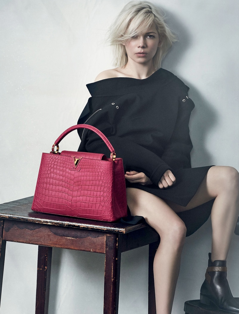 Shopping with Louis Vuitton is an Ever-Lasting Adventure Louis Vuitton Shopping with Louis Vuitton is an Ever-Lasting Adventure coveted Shopping with Louis Vuitton is Adventure michelle williams capucines louis vuitton bag01