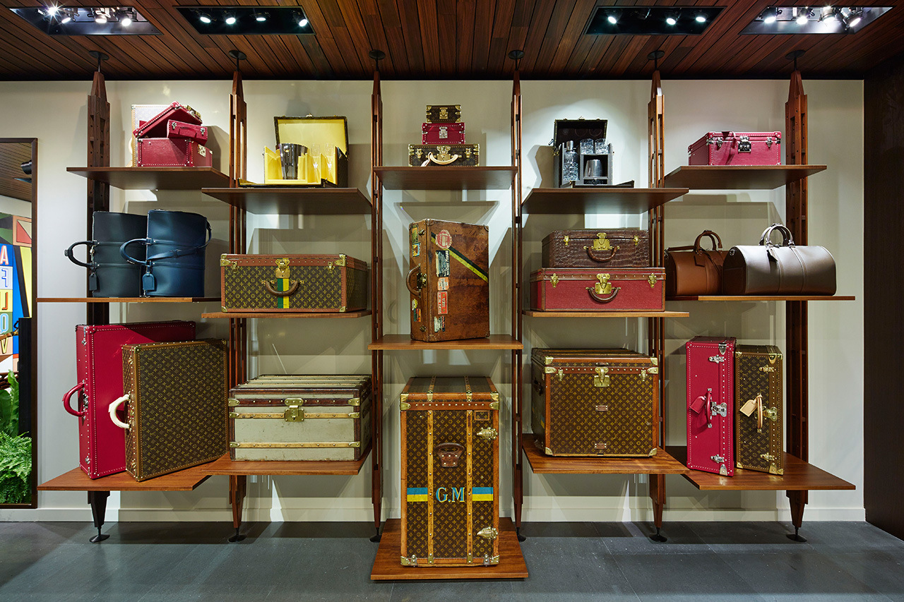 Shopping with Louis Vuitton is Adventure Louis Vuitton Shopping with Louis Vuitton is an Ever-Lasting Adventure coveted Shopping with Louis Vuitton is Adventure pop up store 3