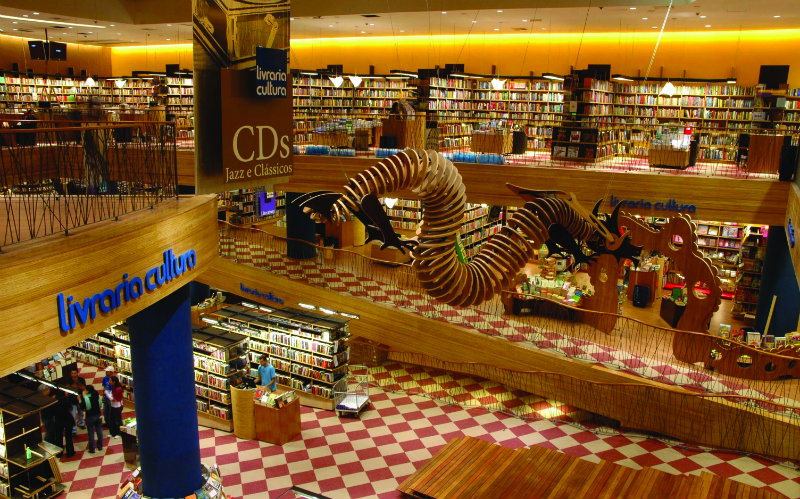 The World's Most Beautiful Bookstores the world's most beautiful bookstores THE WORLD'S MOST BEAUTIFUL BOOKSTORES coveted The World E2 80 99s Most Beautiful Bookstores Livraria Cultura Sao Paulo Brazil