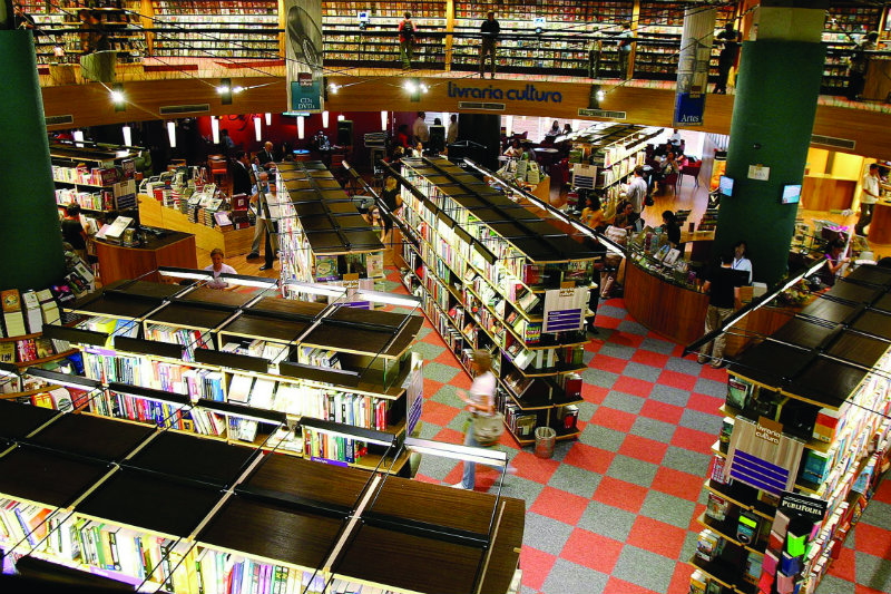 The World's Most Beautiful Bookstores the world's most beautiful bookstores THE WORLD'S MOST BEAUTIFUL BOOKSTORES coveted The World E2 80 99s Most Beautiful Bookstores Livraria Cultura Sao Paulo