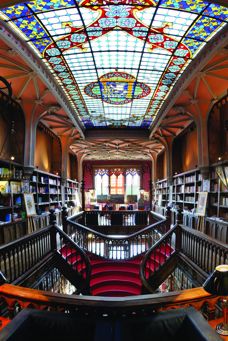 The World's Most Beautiful Bookstores the world's most beautiful bookstores THE WORLD'S MOST BEAUTIFUL BOOKSTORES coveted The World E2 80 99s Most Beautiful Bookstores Livraria Lello e Irmao Porto Portugal