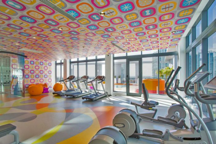 Make your gym look bright