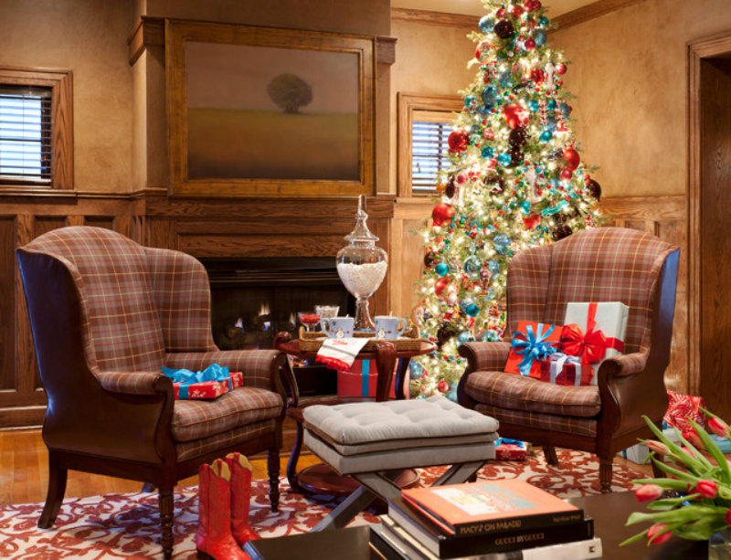 Traditional Living Room Color Schemes discover your color scheme for christmas decoration – covet edition