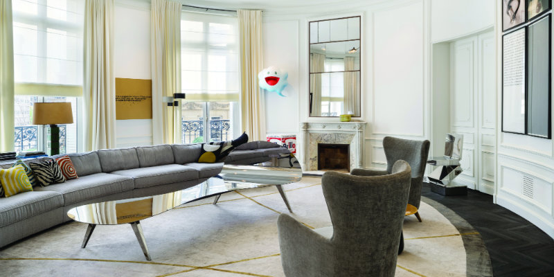 CovetED Architectural Style of Charles Zana Appartement Paris 2013
