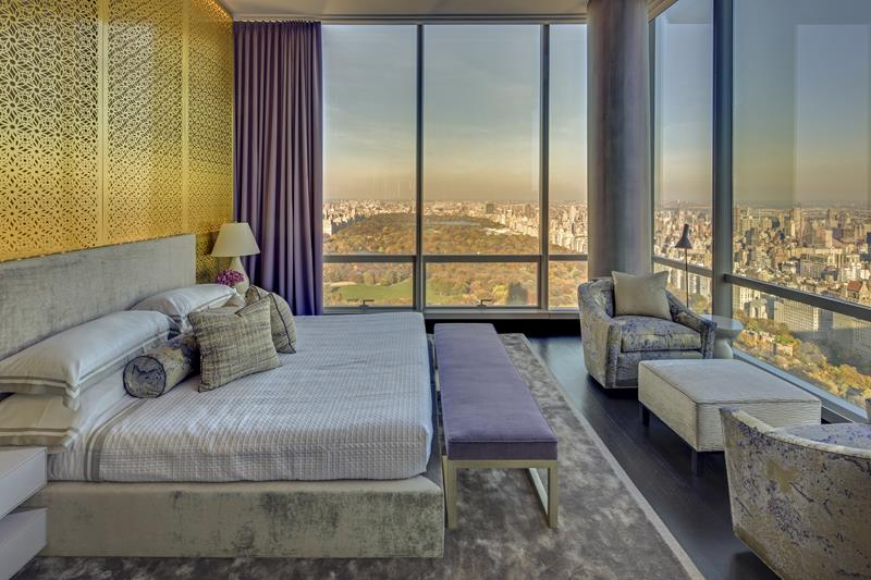 Residential Project by Jamie Drake - One 57 best design projects Best Design Projects: The One 57 High-Rise Building by Drake/Anderson CovetED Residential Project by Jamie Drake One 57 bedroom