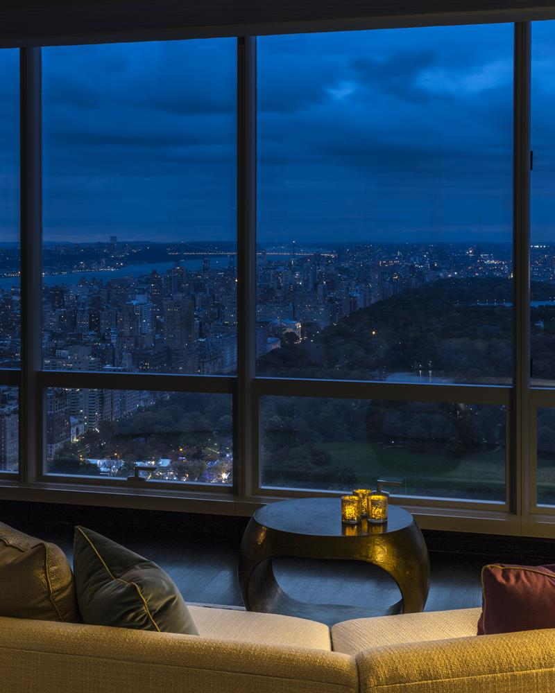 Residential Project by Jamie Drake - One 57 best design projects Best Design Projects: The One 57 High-Rise Building by Drake/Anderson CovetED Residential Project by Jamie Drake One 57 night