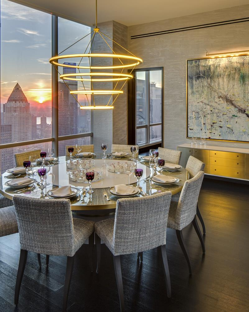 Best Design Projects: The One 57 High-Rise Building by Drake/Anderson best design projects Best Design Projects: The One 57 High-Rise Building by Drake/Anderson CovetED Residential Project by Jamie Drake One 57 table