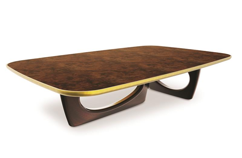 CovetED Winter's Tale sherwood center table