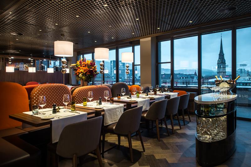 George - the Exquisite Rooftop Restaurant in Zurich photos