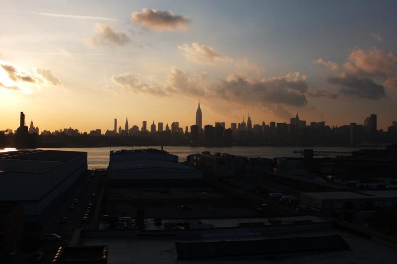 New York Insider's Guide skyline from the Whyte Hotel in Brooklyn