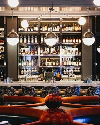 CovetED Ultimate Design of Bar Margot in Four Seasons Hotel Atlanta
