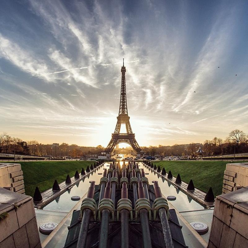 CovetED magazine Learn about photography with Oliver Wong Eiffel Tower