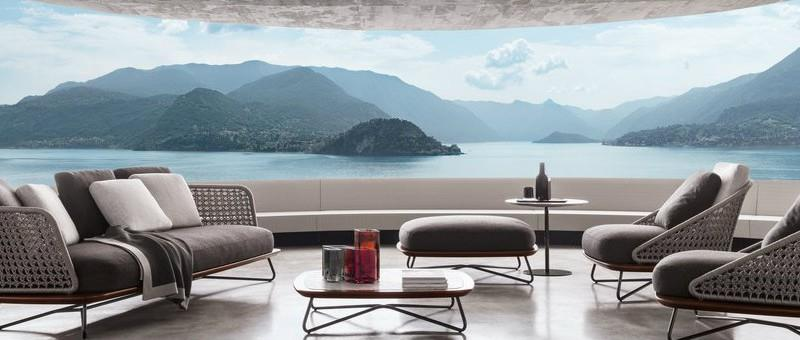 minotti outdoor furniture. CovetEd Italian Brands At Imm Cologne 2016 Rivera Armchairs By Minotti Italia Pictures Outdoor Furniture I