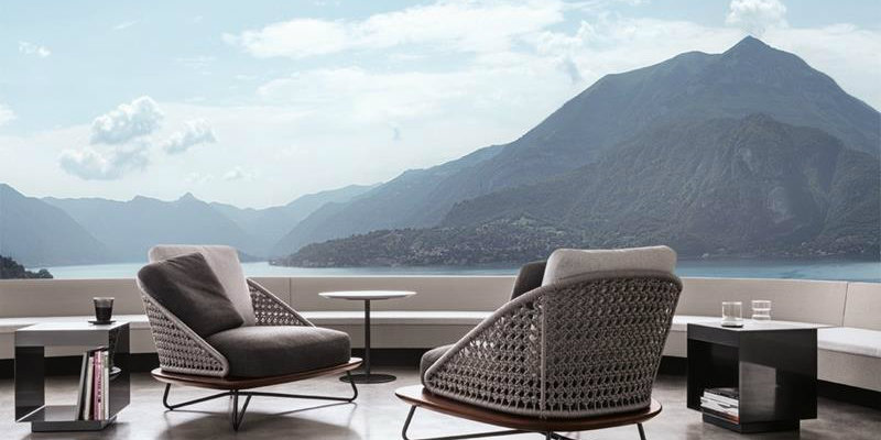 CovetEd Italian Brands at Imm Cologne 2016 Rivera Armchairs by Minotti Italia