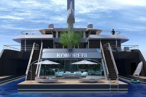 Incredible Design of Sailing Superyacht