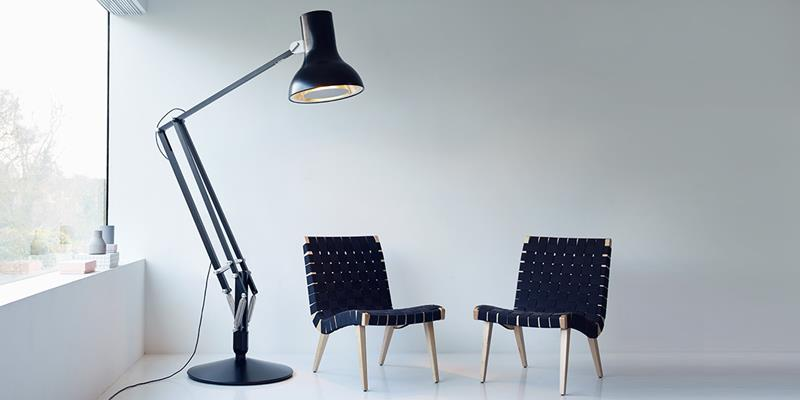 CovetED Light+Building 2016 Giant Lamp Collection by Anglepoise black lamp  Light+Building 2016: Giant Lamp Collection by Anglepoise CovetED Light Building 2016 Giant Lamp Collection by Anglepoise black lamp