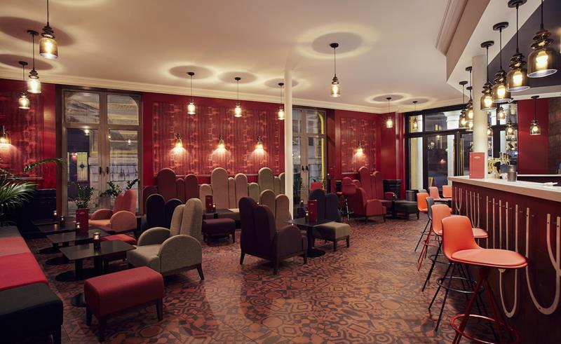 Classic Hotel in Montpellier Rhythm, Melody and Movement hotel design