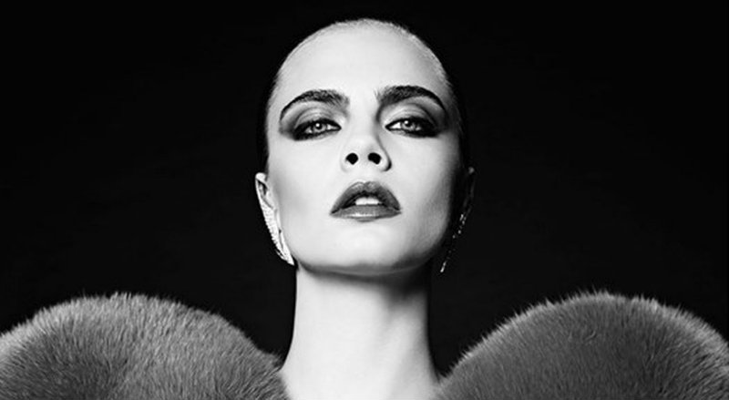 CovetED Cara Delevingne strikes again with Saint Laurent design Cara Delevingne strikes again with Saint Laurent CovetED Cara Delevingne strikes again with Saint Laurent design