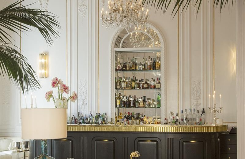 CovetED Small Luxury Hotels 5 Star Palazzo Dama bar design