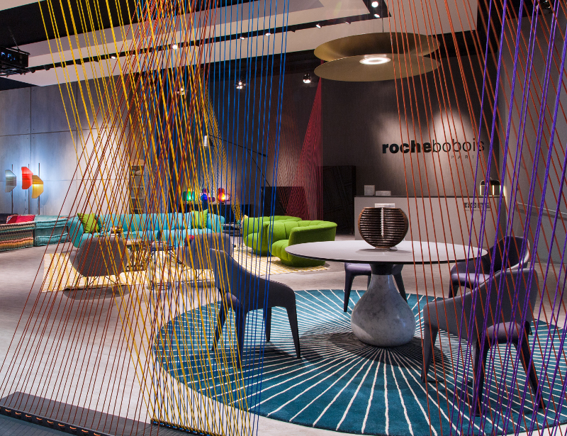 roche bobois at salone del mobile milano covet edition. Black Bedroom Furniture Sets. Home Design Ideas