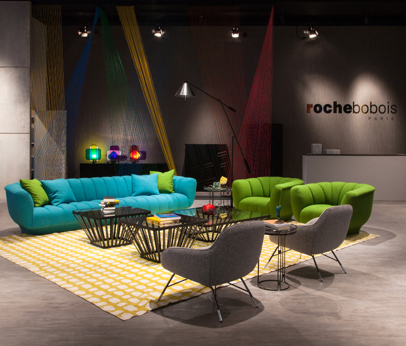 Roche bobois at salone del mobile milano covet edition for Roche bobois milano